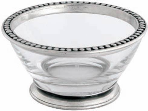 $142.00 Angle Bowl - Large - Pewter Medici