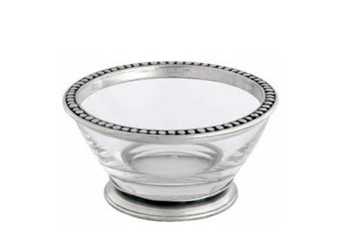 $55.00 Angle Bowl - Small - Pewter Medici