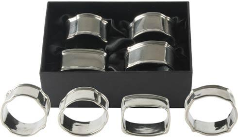 $74.00 Napkin Rings - Colonial Assorted