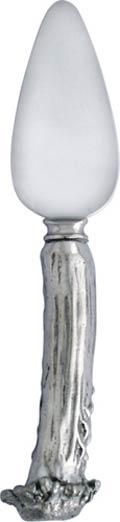 Vagabond House  Horn Pewter Cheese Triangle $37.00