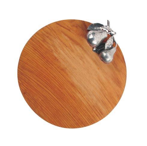 Vagabond House  Harvest Cheese Tray Hardwood - Pear $187.00