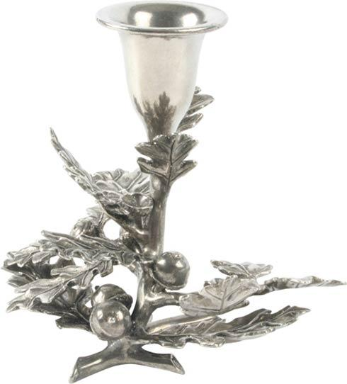 $57.00 Oak Leaf Candle Holder 1 Light