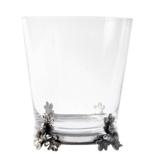 $209.00 Ice Bucket Glass - Acorn Oak Leaf