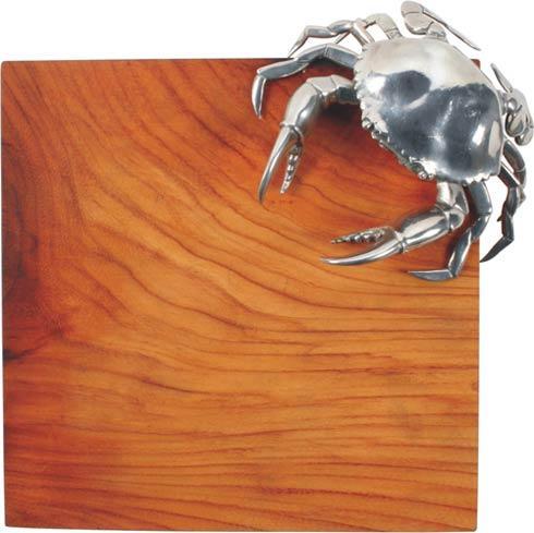 Vagabond House  Sea And Shore Cheese Tray Hardwood - Crab $253.00
