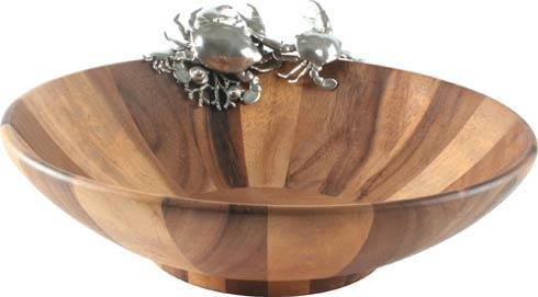 Vagabond House Sea And Shore Salad Bowl Large Crab Price 165 00 In New York Ny From William Wayne Co