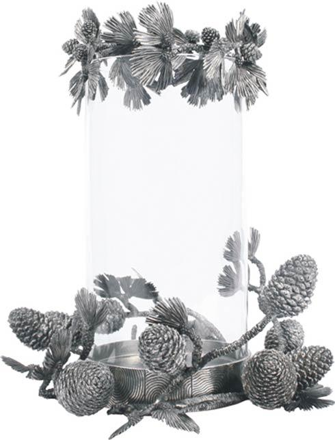 $830.00 Pillar Candle Centerpiece - Pine Cone