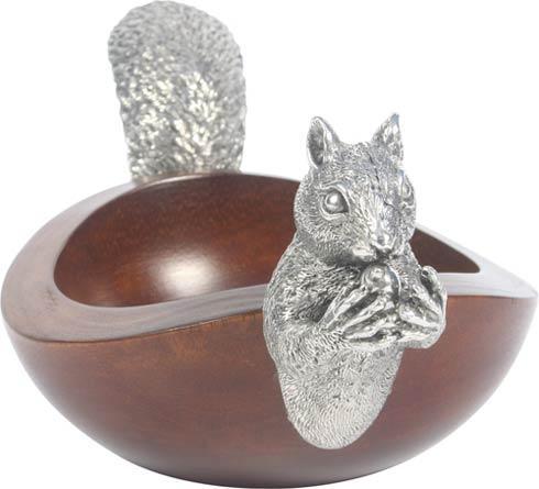 $195.00 Squirrel Nut Bowl - Large