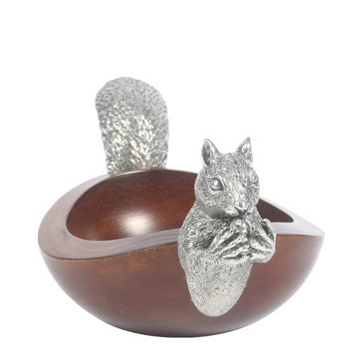 Vagabond House  Whimsical Creatures Squirrel Nut Bowl - Small $79.00