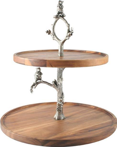 $350.00 Cheese Stand - Squirrel