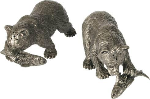 $130.00 Salt And Pepper - Bear With Fish