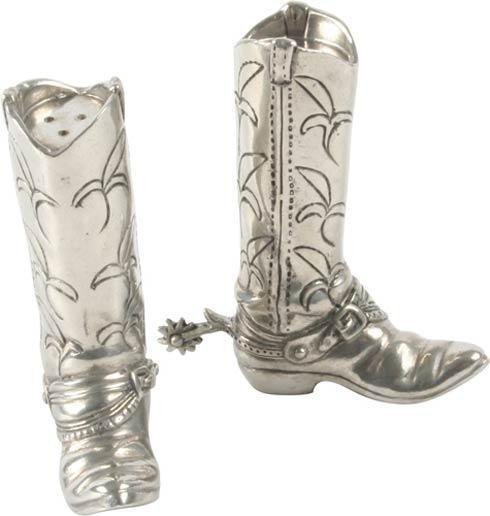 Vagabond House  Wild Wild West Salt And Pepper - Cowboy Boot $70.00