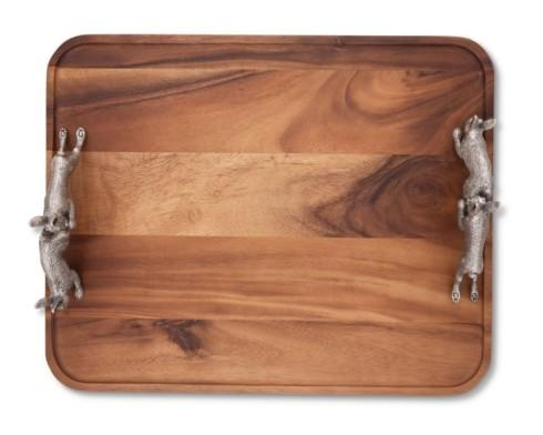 $250.00 Hopping Bunny Wood Tray