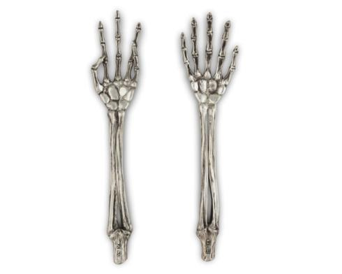 $179.00 Skeleton Salad Servers