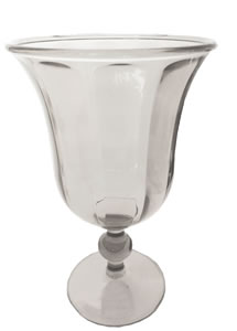 $7.00 Footed Goblet Clear