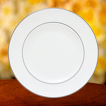 Continental Dining Platinum Accent Plate