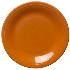 Dinner Plate, Tangerine
