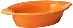 Oval Baker tangerine