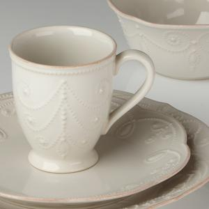 French Perle White Mug
