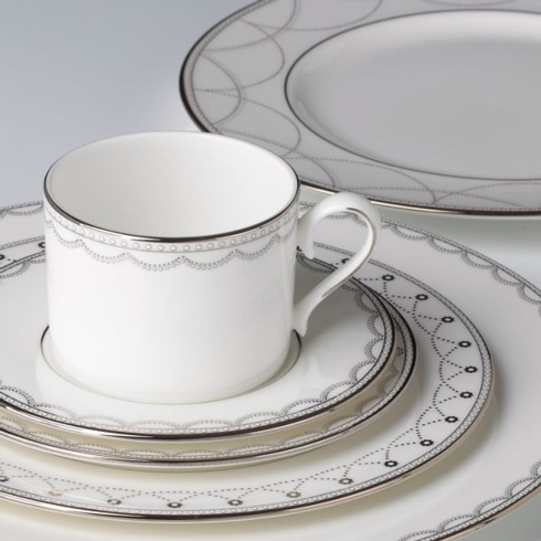 Iced Pirouette Cup & Saucer