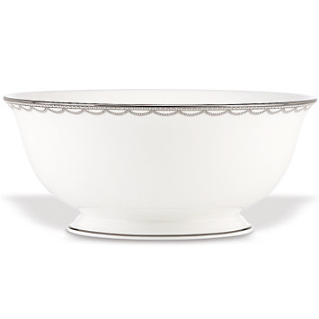 Iced Pirouette Serving Bowl