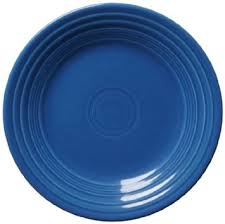 Luncheon Plate, Lapis
