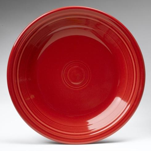 Dinner Plate, Scarlet