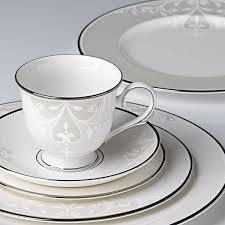 Scroll Teacup & Saucer