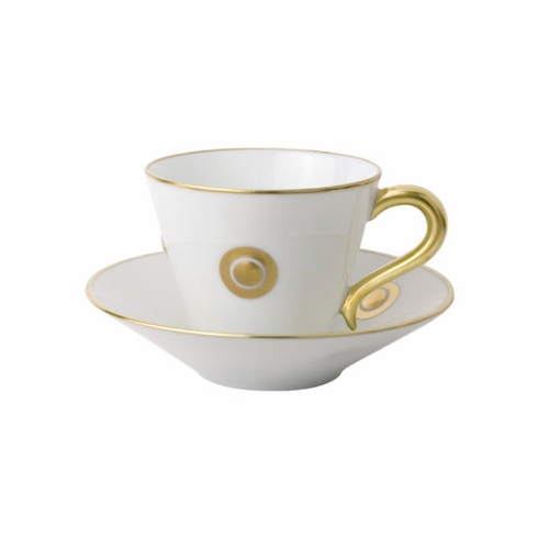 Ithaque Gold Tea Cup and Saucer collection with 1 products