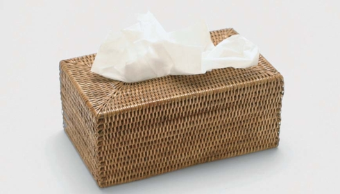 Vieuxtemps Exclusives   Square Tissue Box $42.00