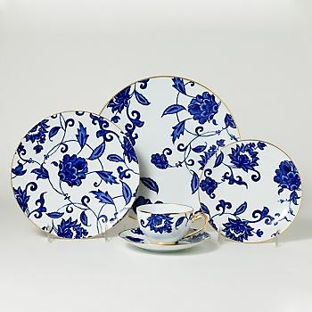 $155.00 Prince Bleu Teacup and Saucer
