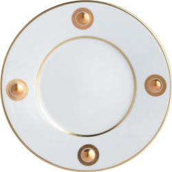 $60.00 Ithaque Gold Bread and Butter Plate