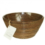 Vieuxtemps Exclusives   Round Bowl with Glass Insert $98.00