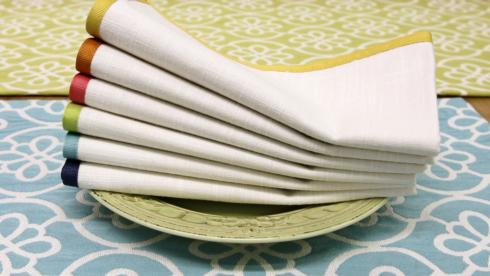 Swing Napkins NO Mono Set of 4 collection with 1 products