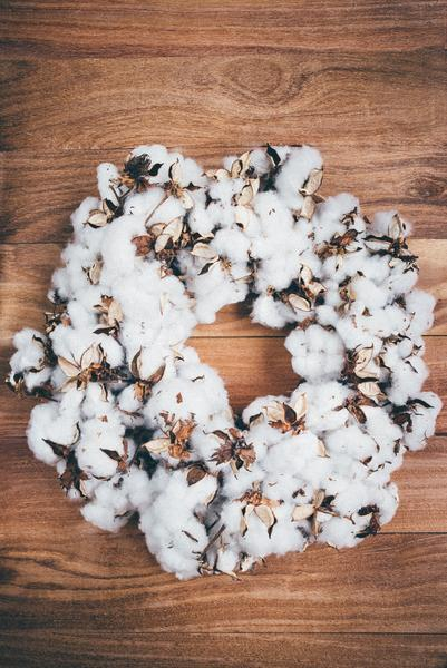 $168.00 NAD Cotton Wreath