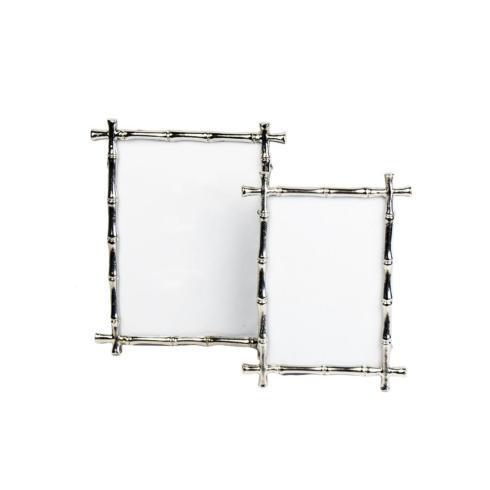 $42.00 Silver Bamboo Frame 4x6