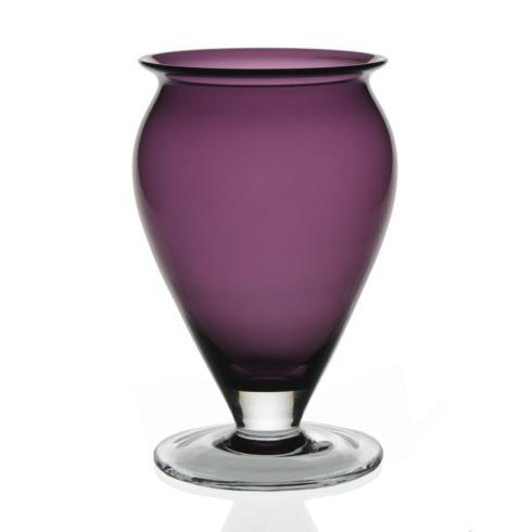 """$145.00 Amethyst 8.5"""" Vase"""