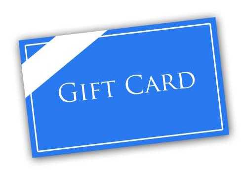 Gift Cards & Certificates department