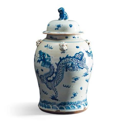 Vieuxtemps Exclusives   Blue and White Ginger Jar $425.00