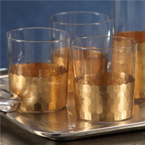 Vieuxtemps Exclusives   Gold Leaf Tumbler $18.00