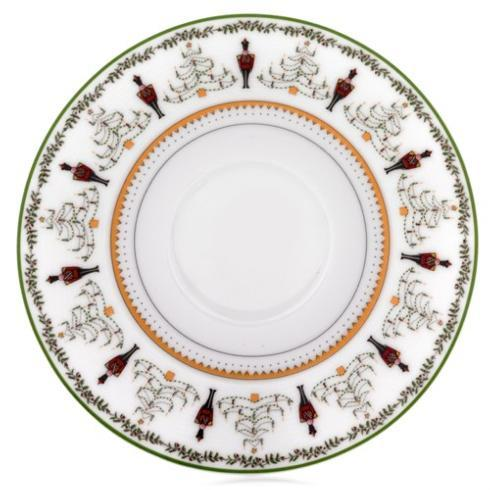 Bernardaud  Grenadiers Coffee Saucer $40.00