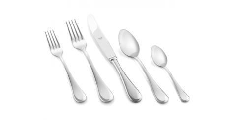 $55.00 Mepra Michelangelo Flatware 5pc