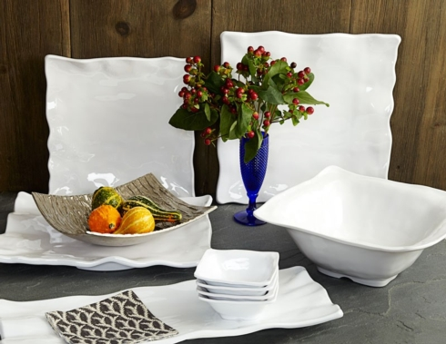 $36.00 QSquared long Rectangular Platter
