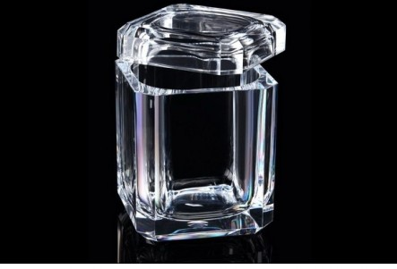 Vieuxtemps Exclusives   Acrylic Swivel Top Ice Bucket  $115.00