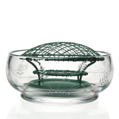 William Yeoward   Wisteria Rose Bowl with Wire $150.00