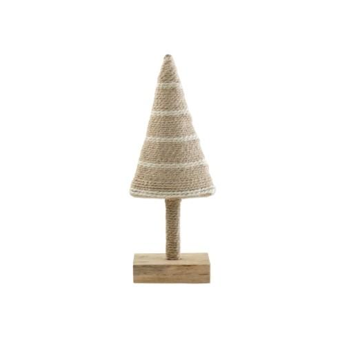 $24.00 Natural with Stripes Small Tree