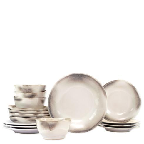 $692.00 Ash Sixteen-Piece Place Setting