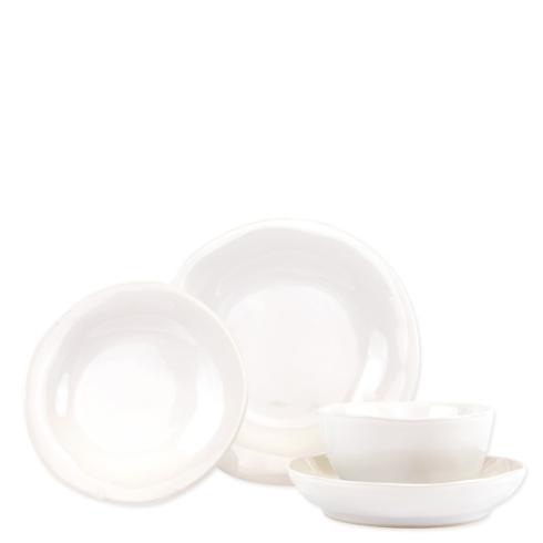 $188.00 Snow Four-Piece Place Setting