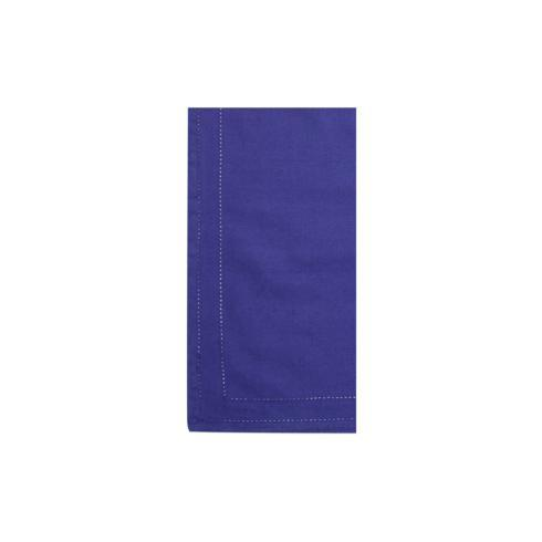 VIETRI Cotone Linens Cobalt Napkins with Double Stitching - Set of 4 $40.00