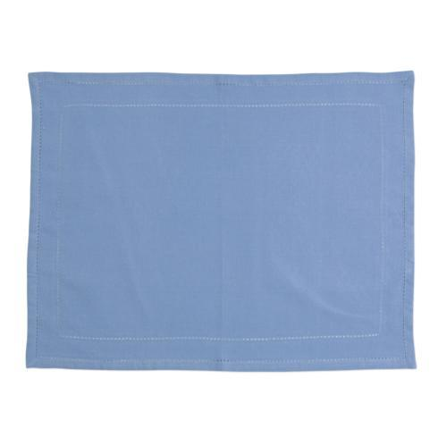 $40.00 Blue Placemats with Double Stitching - Set of 4