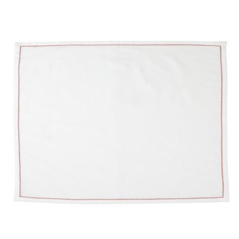 $40.00 Placemats with Red Stitching - Set of 4